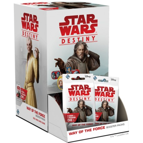 Way of the Force Booster Box - Star Wars Destiny (EN/FR)
