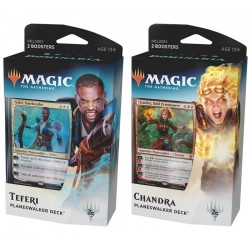 Set of 2 Dominaria Planeswalker Decks - Chandra and Teferi