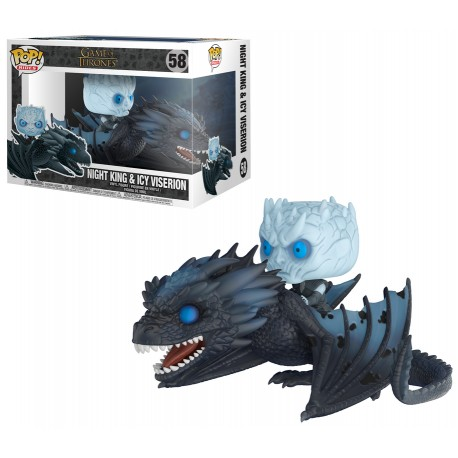 Night King & Viserion Funko Pop Rides Game of Thrones Le Roi de la Nuit et Viserion 58