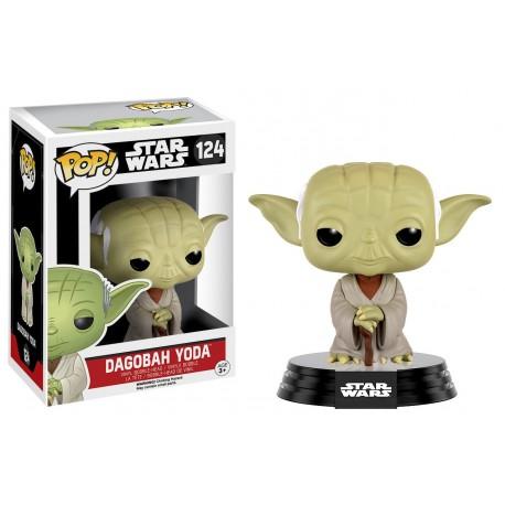 Dagobah Yoda Funko Pop Star Wars 124