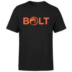 T-shirt Bolt Magic the Gathering Mana Rouge (Noir)