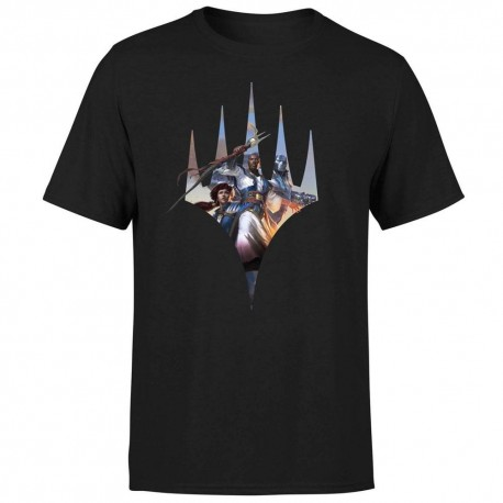 T-shirt Key Art Logo Magic the Gathering (Noir)