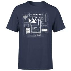 T-shirt Card Grid Magic the Gathering - Grille de Carte - (Noir)