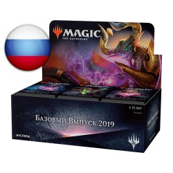 Boîte de 36 Boosters : Edition de Base 2019 en Russe (RU)