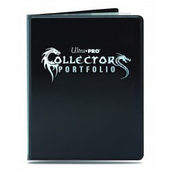 Ultra Pro 9-Pocket Portfolio Gaming Collectors Black
