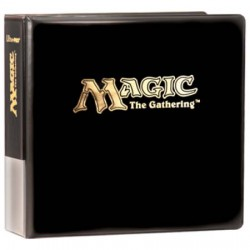 "Ultra PRO - 3 Ring Binder - Magic The Gathering 3"" Black Album"