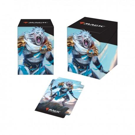 Deck Box Pro 100+ Ajani, adversaire des tyrans - Magic Edition de Base 2019 - Ultra Pro