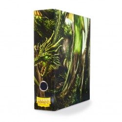 Slipcase Binder Dragon Shield 3 Ring Binder - Green Dragon Art