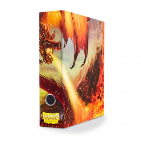 Classeur étui Dragon Shield 3 Anneaux (Slipcase Binder) - Dragon Art Rouge