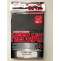 Neo Mat Black Pochettes KMC Sleeves (x80)