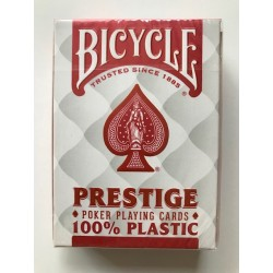 Cartes de Poker Bicycle Prestige 100% en plastique Poker