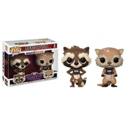 Rocket & Lylla Funko Pop Guardians of the Galaxy The Telltale Series Pack 2 POP