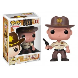 Carl Grimes Funko Pop Television The Walking Dead Carl Grimes Season 6 with Sheriff Hat 388
