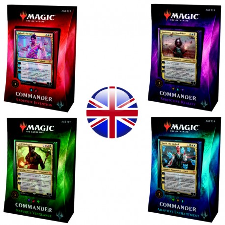 2018 Commander Decks - Lot de 4 Decks