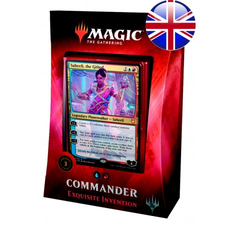 2018 Commander Deck 1 - Exquisite Invention (UR)