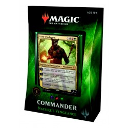 2018 Commander Deck 3 - Nature's Vengeance / Vengeance de la Nature (BRG) Jund