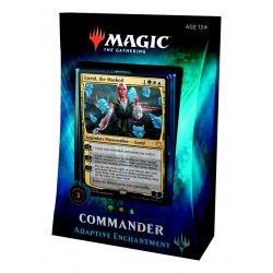 2018 Commander Deck 4 - Adaptive Enchantment / Enchantement Evolutif (GWU) Bant