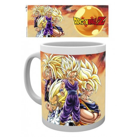 Mug Dragonball Z Super Saiyans (320ml)