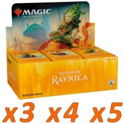 Boîte de 36 Boosters : Les guildes de Ravnica (x3 et plus)