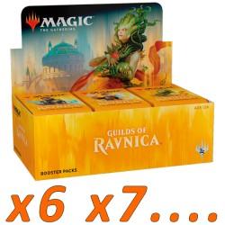 Boîte de 36 Boosters : Les guildes de Ravnica (x6 et plus)