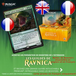 Boîte de 36 Boosters : Les Guildes de Ravnica + Carte Buy-a-Box