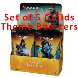 Theme Boosters : Set of 5 Guilds of Ravnica (EN)