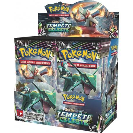 Boîte de 36 Boosters Tempête Céleste Pokémon SM7 (FR)