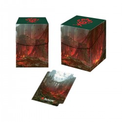 Guilds of Ravnica Deck Box Pro 100+ Gruul Clans (Ultra Pro)