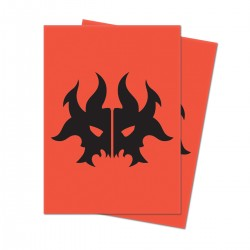Guilds of Ravnica Sleeves : Cult of Rakdos - Ultra Pro (x100)