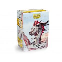 Dragon Shield Sleeves : Qoll Art Sleeves (x100)