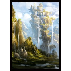 Legion Protège-cartes Mat : Veiled Kingdoms: Crown Oasis (x50)