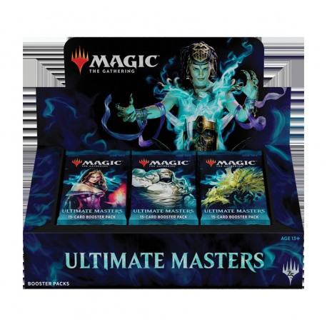 Boîte de 24 Boosters Ultimate Masters (EN)