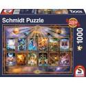 Puzzle Signes du Zodiaque - 1000 pcs
