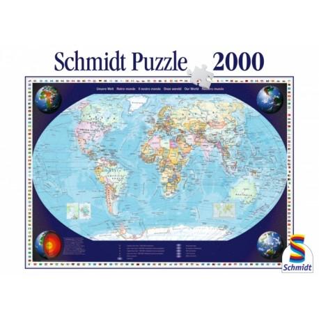 Puzzle Notre Monde - 2000 pcs
