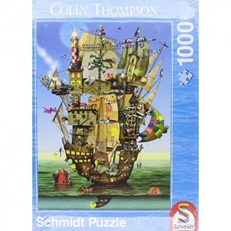 Puzzle Arche de Noé - Colin Thompson - 1000 pcs