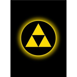 Legion Matte Sleeves : Absolute Iconic Triforce (X50)