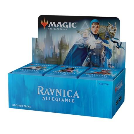 Booster Box (36 packs) : Ravnica Allegiance