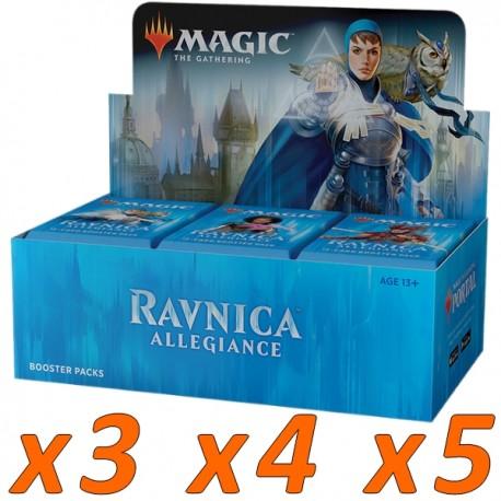 Boîte de 36 Boosters : L'allégeance de Ravnica (x3 et plus)