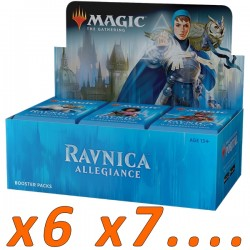 Booster Box (36 packs) : Ravnica Allegiance (x6 and more)