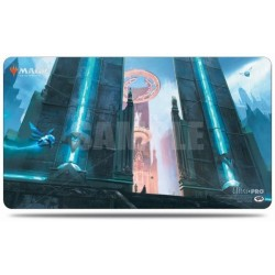 Ravnica Allegiance Playmat - Hallowed Fountain (Azorius)