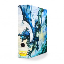 Slipcase Binder Dragon Shield 3 Ring Binder - Black Dragon Art
