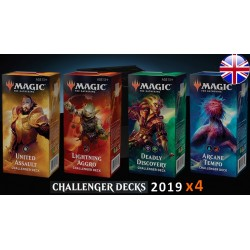 Challenger Decks 2019 - Lot de 4 Decks (EN)