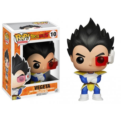 Vegeta Funko Pop Dragonball Z 10