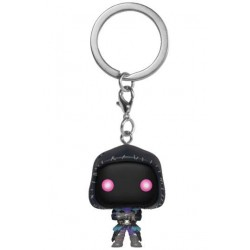 Raven Fortnite Pocket Pop Keychain