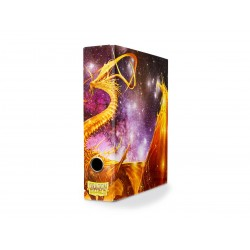 Dragon Shield - Slipcase Binder - Glist Dragon Art Gold