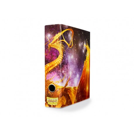 Classeur étui Dragon Shield (Slipcase Binder) - Glist Dragon Art Doré