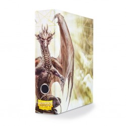 Dragon Shield - Slipcase Binder - Procul Dragon Art White