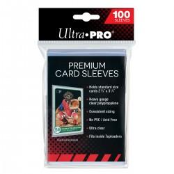 Pochettes transparentes Ultra Pro Premium Platinum Card Sleeves (x100)