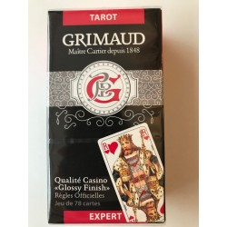 Tarot Grimaud Expert 78 Cartes étui carton