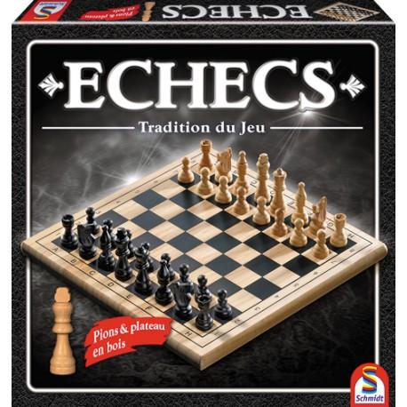 Jeu d'échecs Bois Tradition (FR)